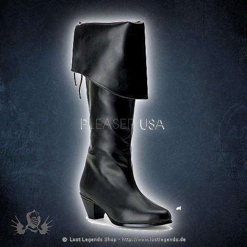 Funtasma MAIDEN-2025 Black Leatherette