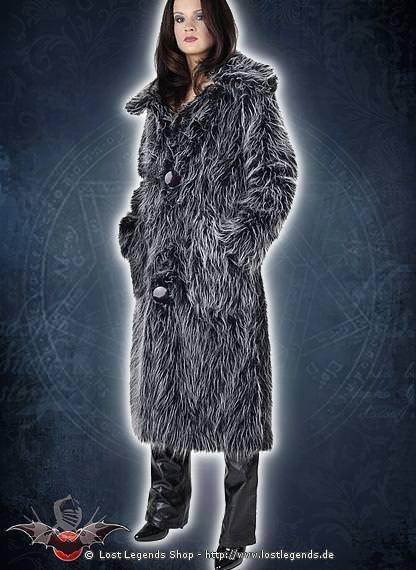 Fur Coat Mantel, Flokati