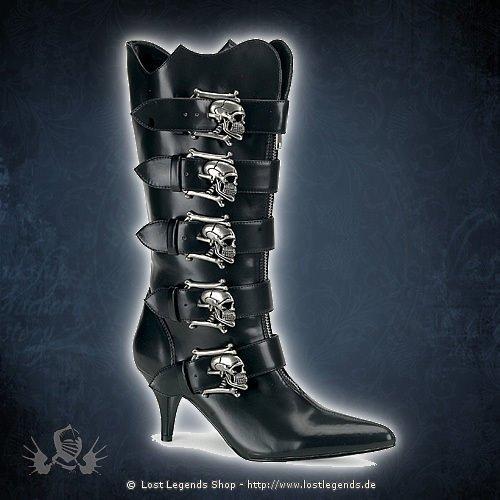 Fury-106 Demonia Gothic Pike Stiefel