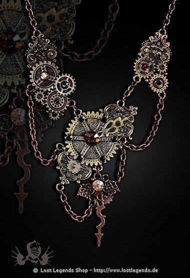 Fusion Steampunk Halskette