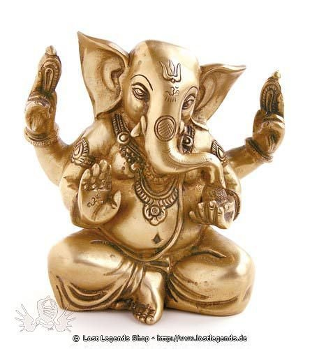 Ganesha sitzend, 14,5 cm
