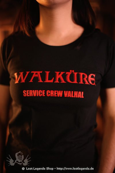 Girly Shirt Walküre - Service Crew Valhal