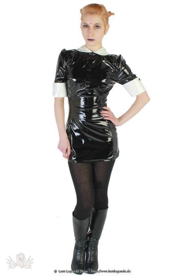 Gloss Alicia Dress Gothic Lack Kleid