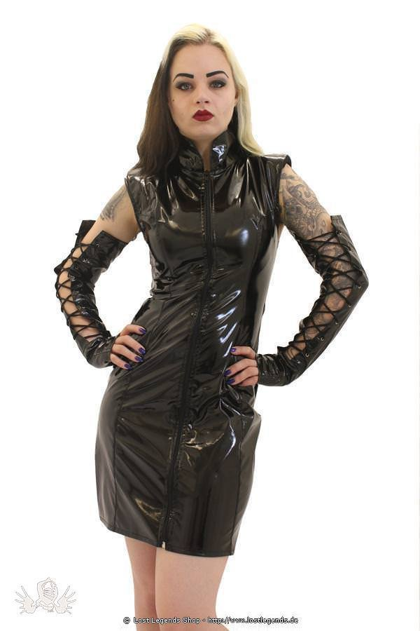 Gloss Crawford Pencil Dress Gothic Lack Kleid
