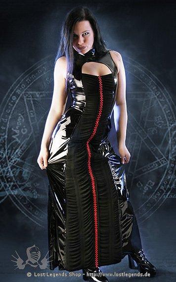 Gloss Vira Rouched Panel Dress Kleid, Lack