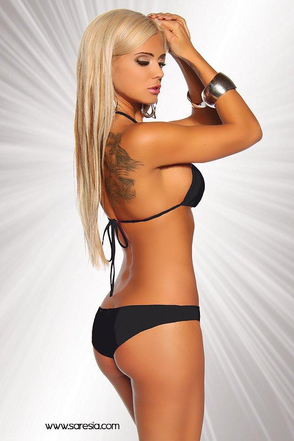 Gogo-Bikini schwarz