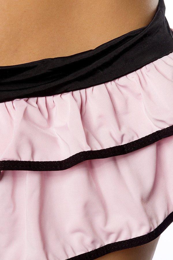 Gogo-Set rosa/schwarz