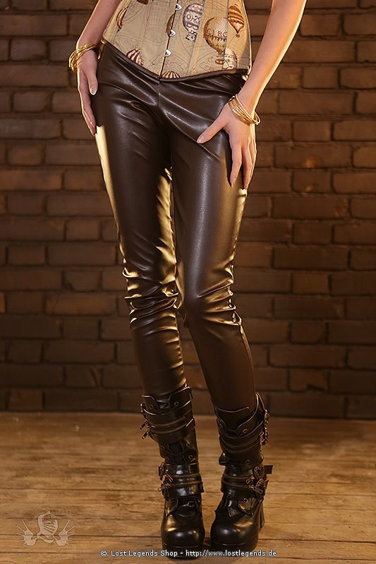Golden Steam Steampunk Leggings