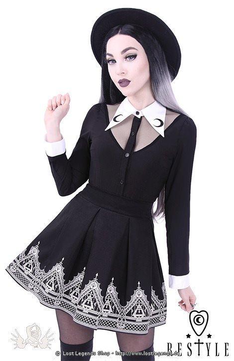 Gothic Bluse LUNA SHIRT