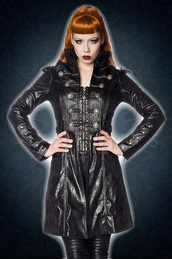 Gothic-Frack schwarz