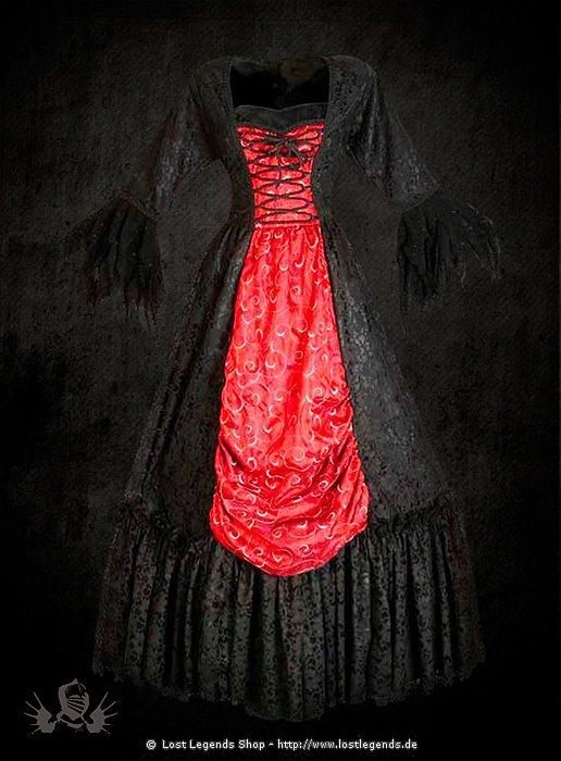 gothic kleid brokat mittelalter kleider. Black Bedroom Furniture Sets. Home Design Ideas