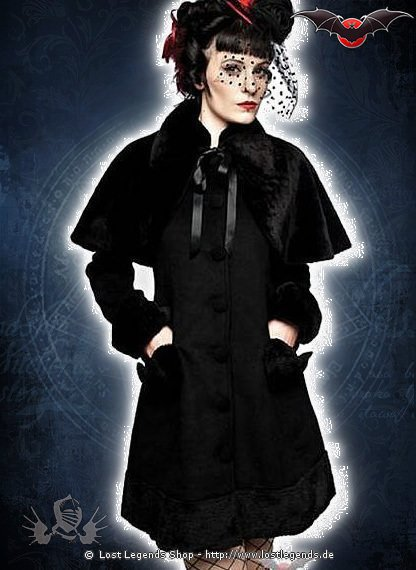 Gothic Lolita Winterjacke