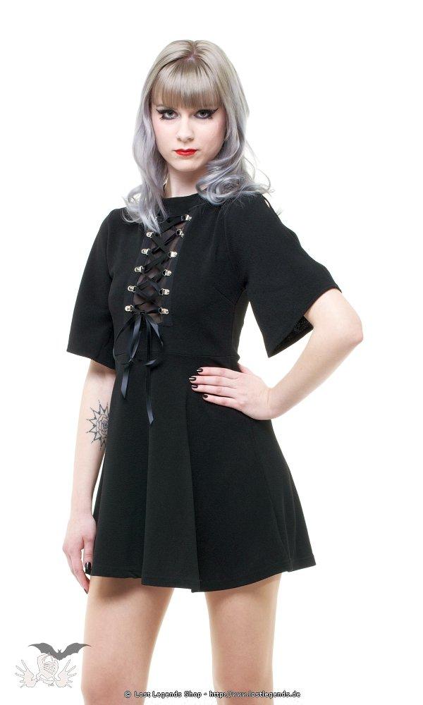 Gothic Minikleid mit Schnürung