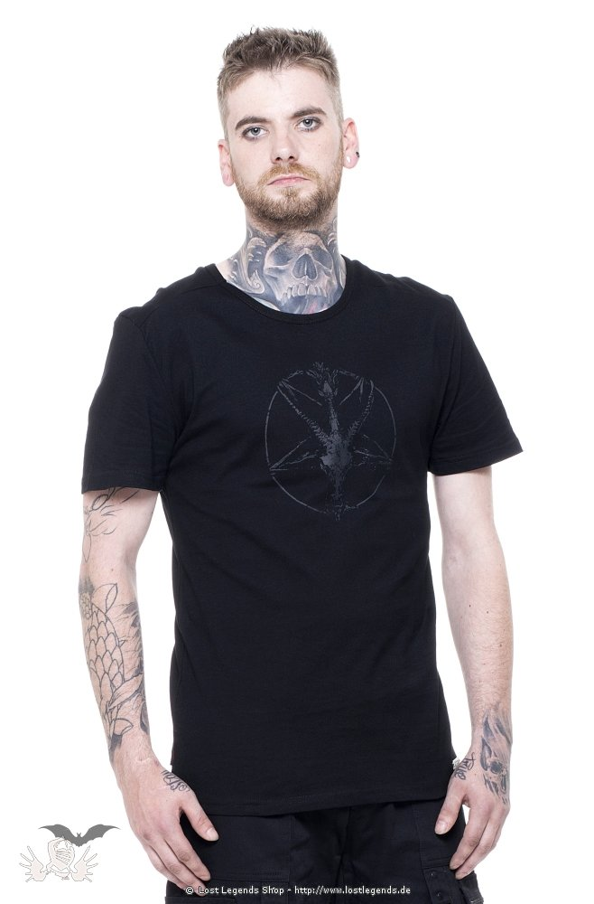 Gothic Punk T-Shirt Baphomet