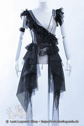 Gothic Shade Dress Visual Kei Style