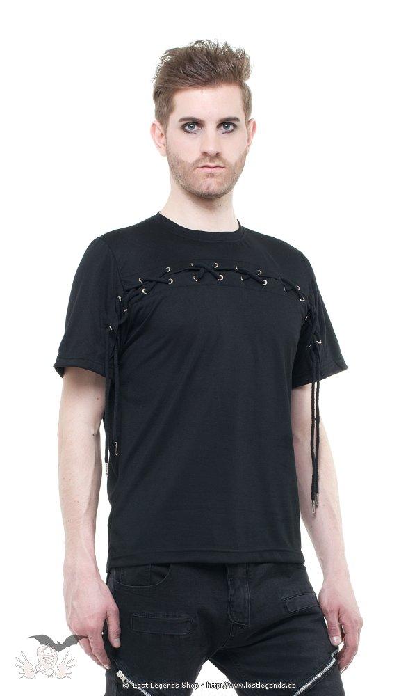 Gothic Shirt mit Schnürung