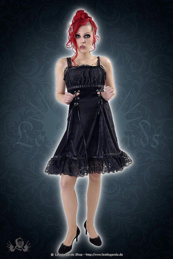 Gothic Trägerkleid