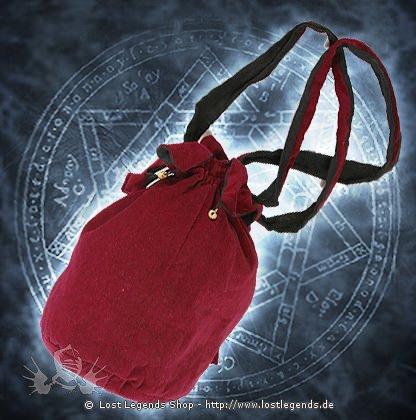 Gothic Velvet Bag Samt
