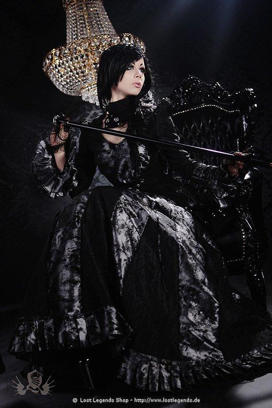 Graphite Lady Steampunk Kleid