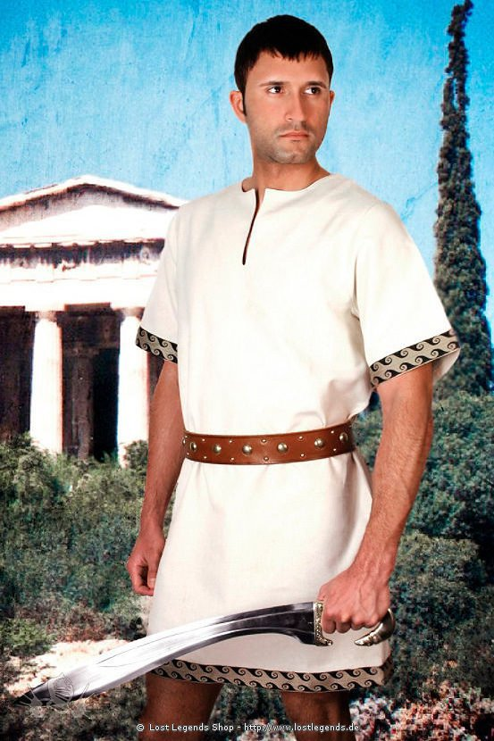 Griechischer Chiton Tunika