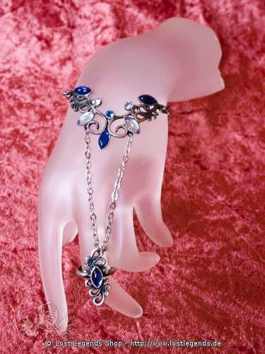 Handkette Ambers Arabesquen blau