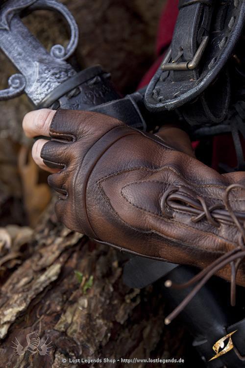 Handschuhe des Diebes Braun