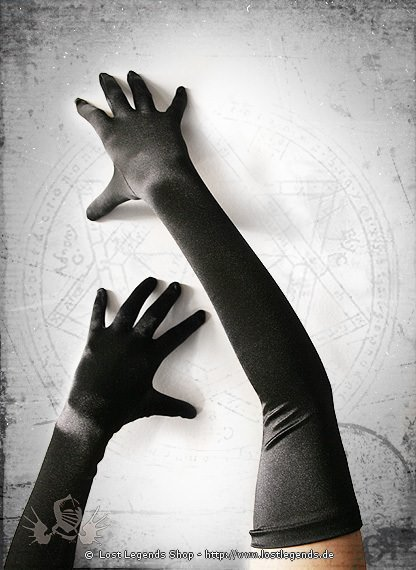 Handschuhe Satin