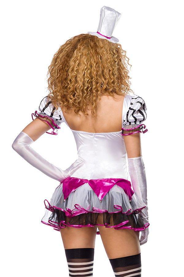 süßer Harlekin Kostüm