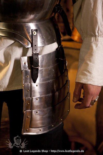 Harnisch mit Beintaschen 16. Jahrhundert