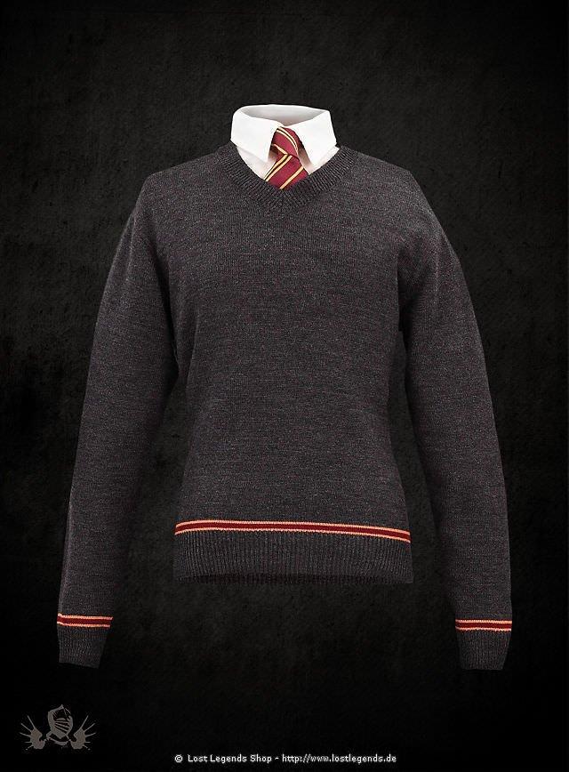 Harry Potter Gryffindor Schuluniform Pullover