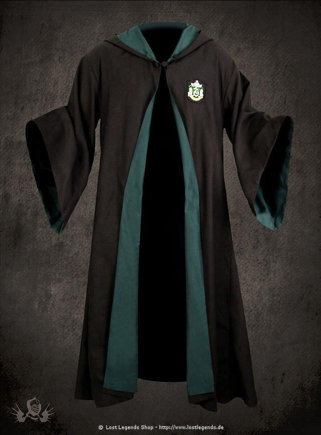 Harry Potter Slytherin Schuluniform Robe