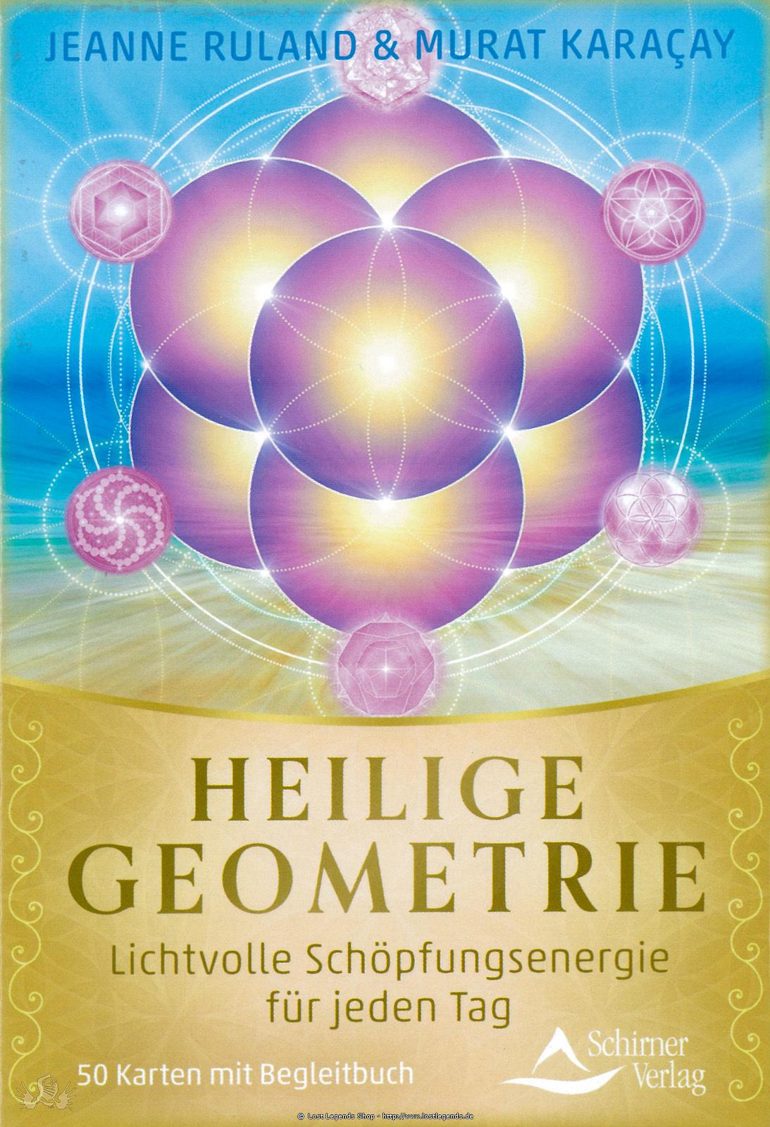 Heilige Geometrie - Orakelkarten Orakelkarten