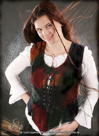 Herbst Athena Miederweste, Samt