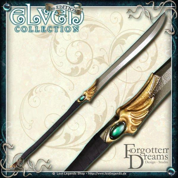 Hochelfen Naginata, grün 140cm Elven 2nd Edition