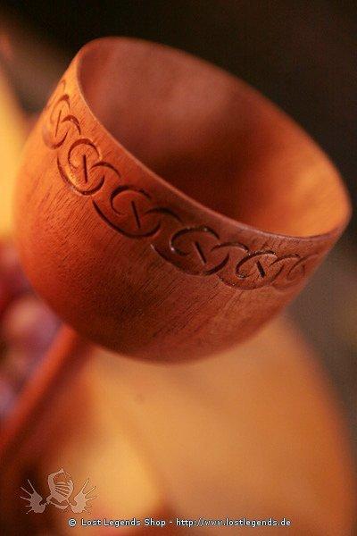 Holzkelch Celtic