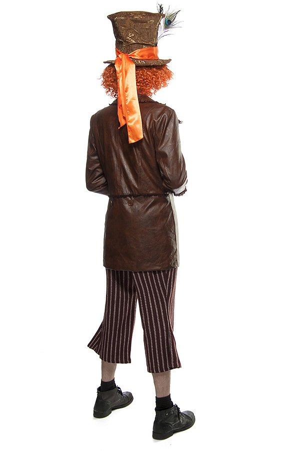 Hutmacher-Kostüm: Mad Hatter bunt