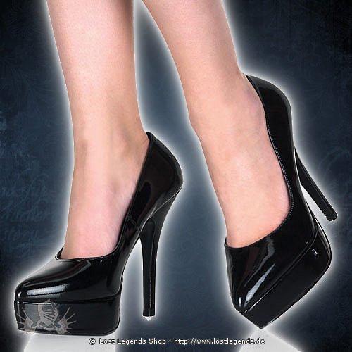 Indulge-520 Black 12,5 cm High-Heel
