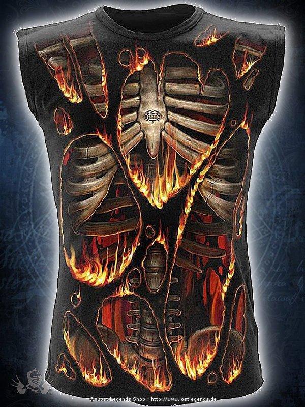 Inferno Sleeveless Rundumdruck SPIRAL