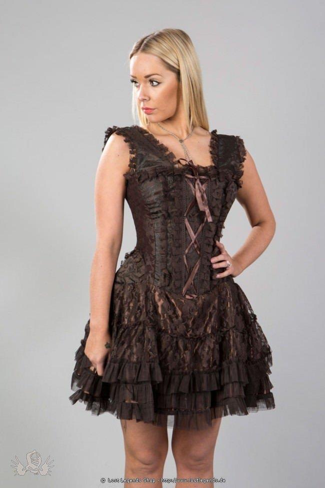 Jasmin Mini Korsett-Kleid mit Spitze
