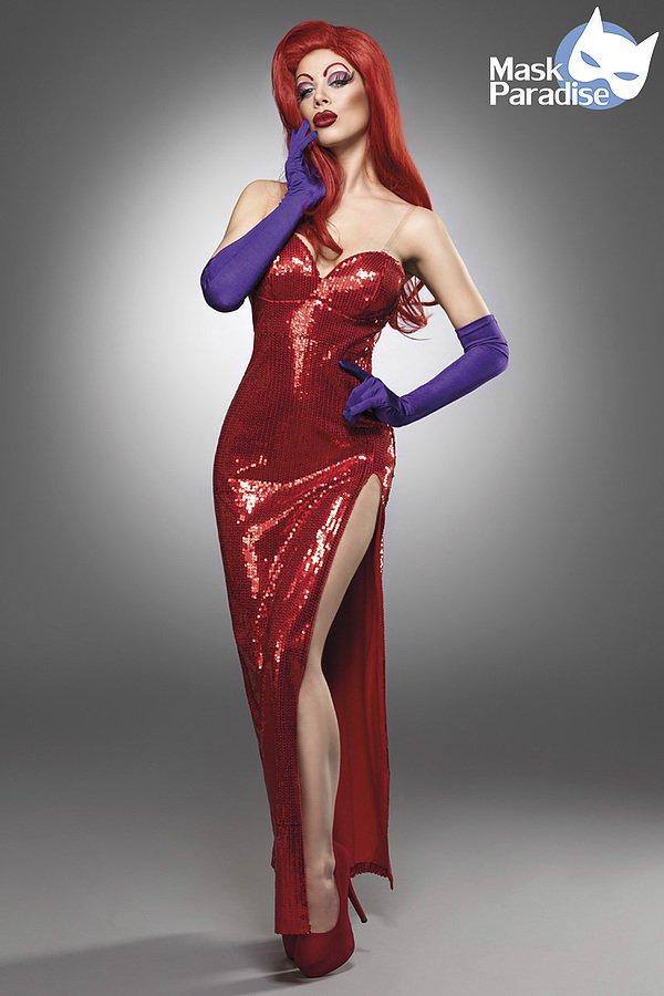 Jessi Rabbit Kostüm rot