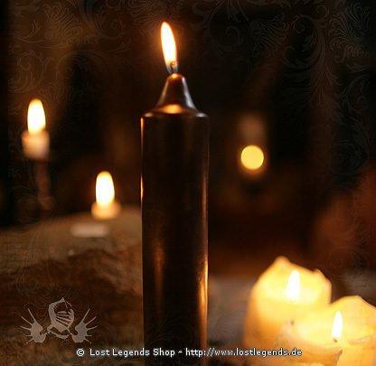 Jumbo Kerze schwarz