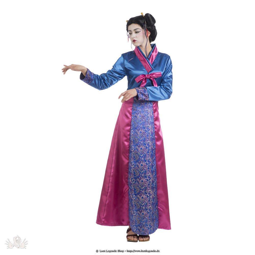 Karnevalskostüm Geisha
