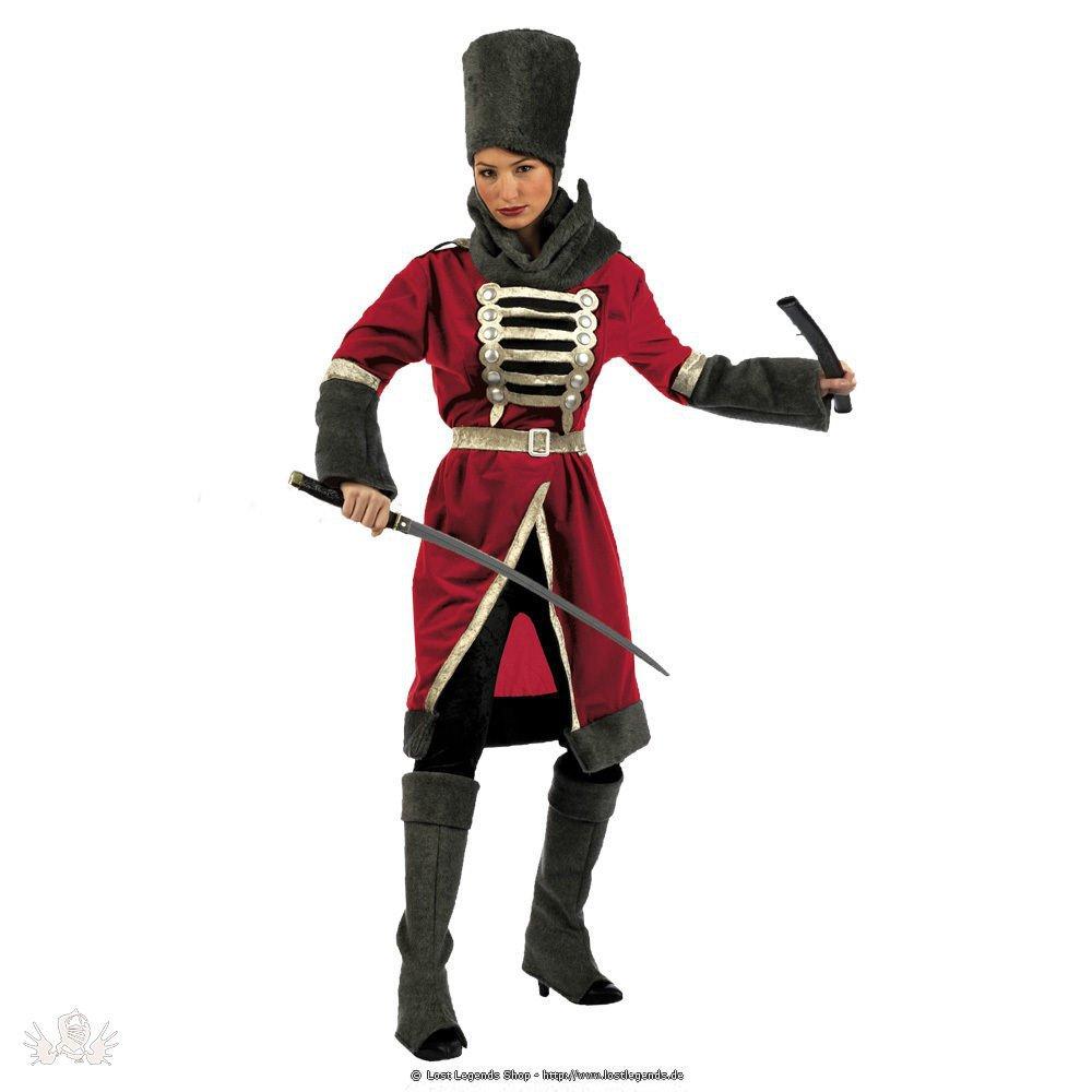 Karnevalskostüm Kosakenfrau mit Hut