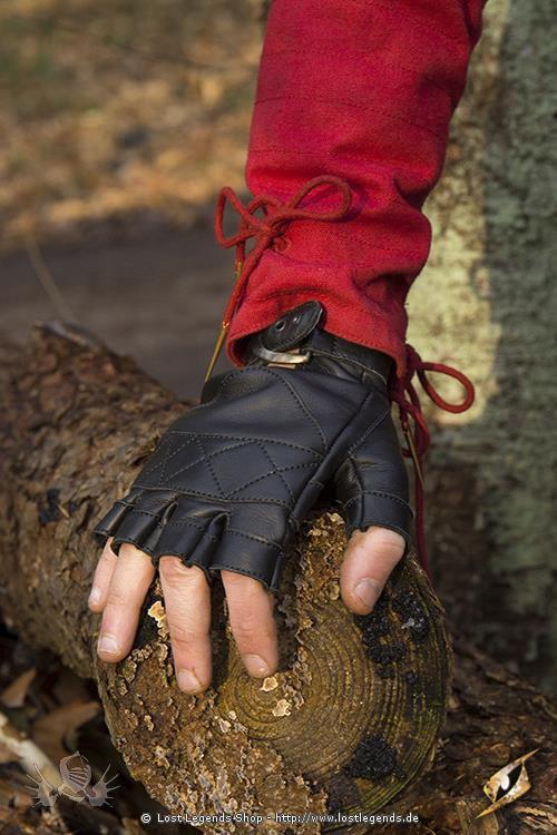 Kelten Handschuhe Schwarz