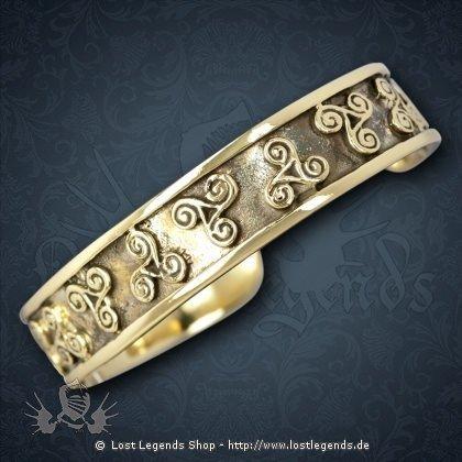 Keltischer Armreif Bronze