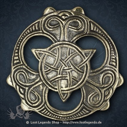Keltischer Knoten Anhänger, Bronze