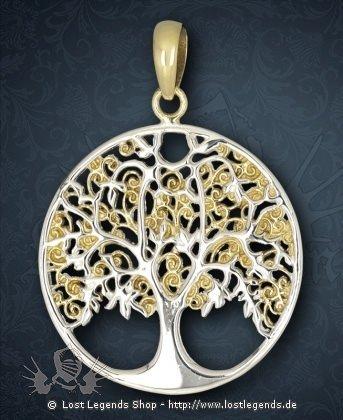 Keltischer Lebensbaum Anhänger, Bronze