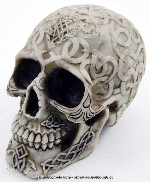 Keltischer Schädel