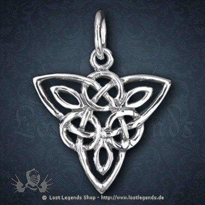 Keltischr Knoten Anhänger, Silber