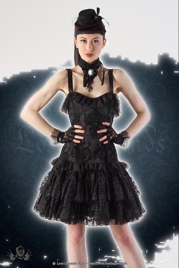 Kiara lace layer gothic Kleid